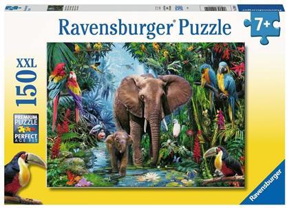 Dschungelelefanten - 150 XXL Teile Puzzle