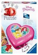 Disney Princess: Herzschatulle - 3D Puzzle 54 Teile