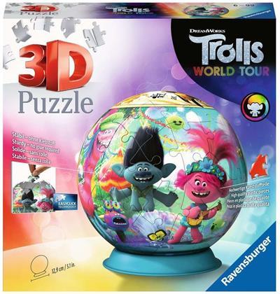 Trolls World Tour - 72 Teile 3D Puzzle