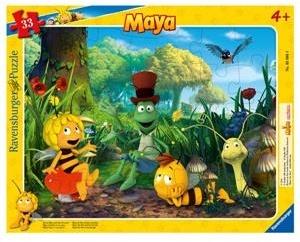 Biene Maja und ihre Freunde - 33 Teile Puzzle
