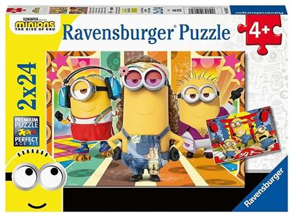 Die Minions in Aktion - Puzzle 2x 24 Teile