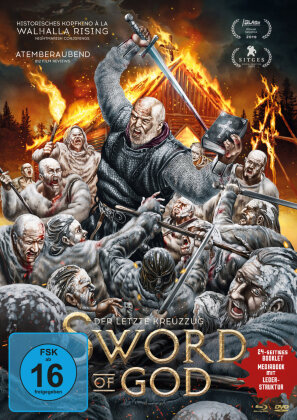 Sword of God - Der letzte Kreuzzug (2018) (Limited Edition, Mediabook, Blu-ray + DVD)