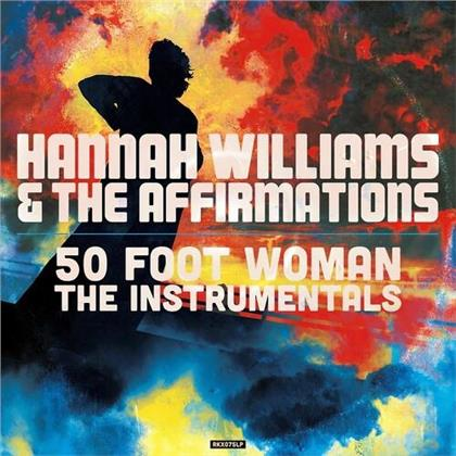 Hannah Williams - 50 Foot Woman (The Instrumentals) (Clear Vinyl, LP)