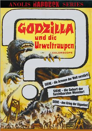 Godzilla und die Urweltraupen (1964) (Kleine Hartbox, Cover B, Anolis Hardbox Series, Limited Edition)