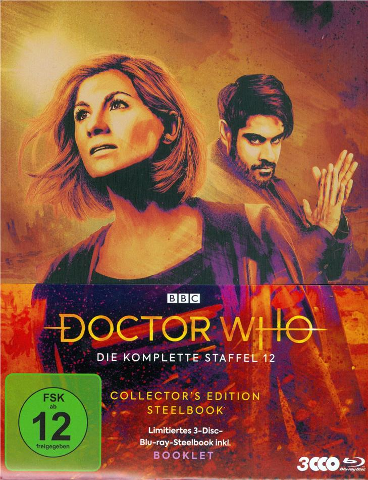 Doctor Who - Staffel 12 (Collector's Edition, Limited Edition, Steelbook, 4 Blu-rays)
