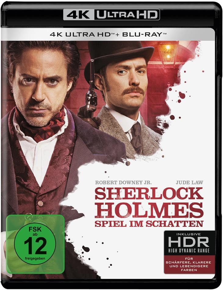 Sherlock Holmes 2 - Spiel im Schatten (2011) (4K Ultra HD + Blu-ray)