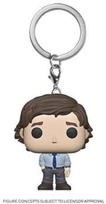 Funko Pop! Keychain: - The Office - Jim Halpert