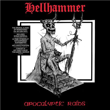 Hellhammer - Apocalyptic Raids (2020 Reissue, Noise, Remastered, LP)