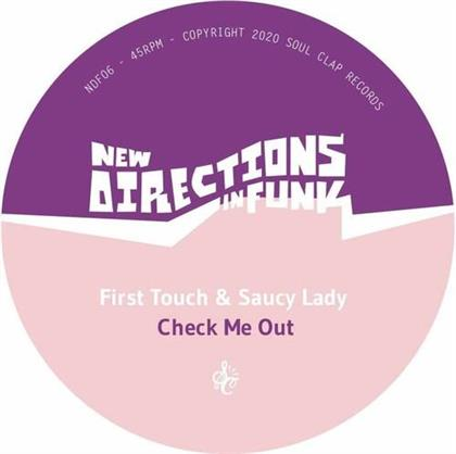 """First Touch & Saucy Lady - New Directions In Funk Vol. 6 (7"""" Single)"""