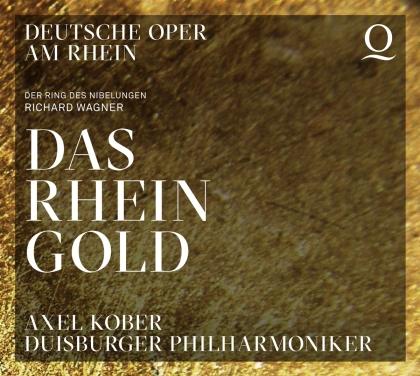 Richard Wagner (1813-1883), Axel Kober, James Rutherford, David Jerusalem, Bernhard Berchtold, … - Das Rheingold (2 CDs)