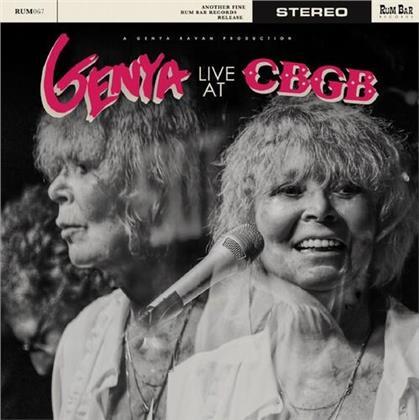 Genya Ravan - Live At CBGB