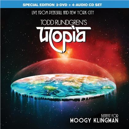Todd Rundgren & Utopia - Benefit For Moogy Klingman (4 CDs + 2 DVDs)