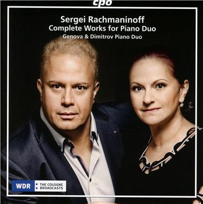Genova & Dimitrov Piano Duo & Sergej Rachmaninoff (1873-1943) - Sergei Rachmaninoff: Complete Works For Piano Duo
