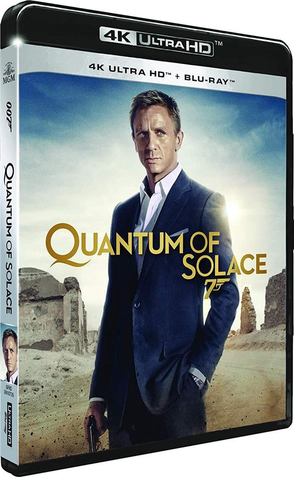James Bond: Quantum of Solace (2008) (4K Ultra HD + Blu-ray)