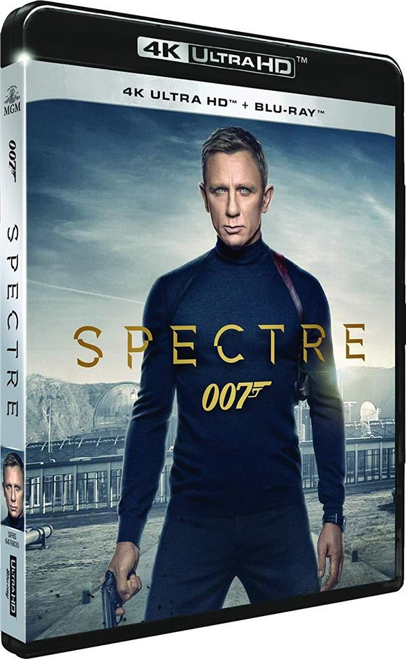 James Bond: Spectre (2015) (4K Ultra HD + Blu-ray)
