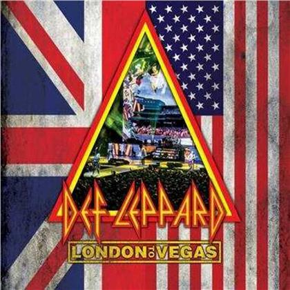 Def Leppard - London to Vegas (Deluxe Edition, Limited Edition, 2 Blu-rays + 4 CDs)