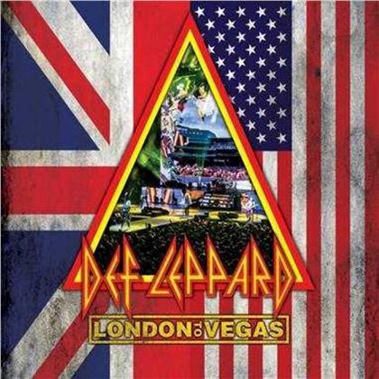 Def Leppard - London to Vegas (Deluxe Edition, Edizione Limitata, 2 Blu-ray + 4 CD)