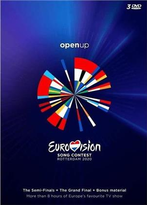 Various Artists - Eurovision Song Contest 2020 - Rotterdam - Open Up (3 DVDs)