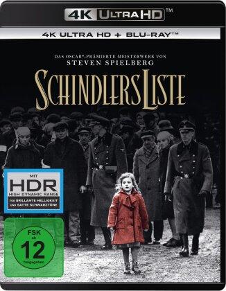 Schindlers Liste (1993) (Versione Rimasterizzata, 4K Ultra HD + 2 Blu-ray)