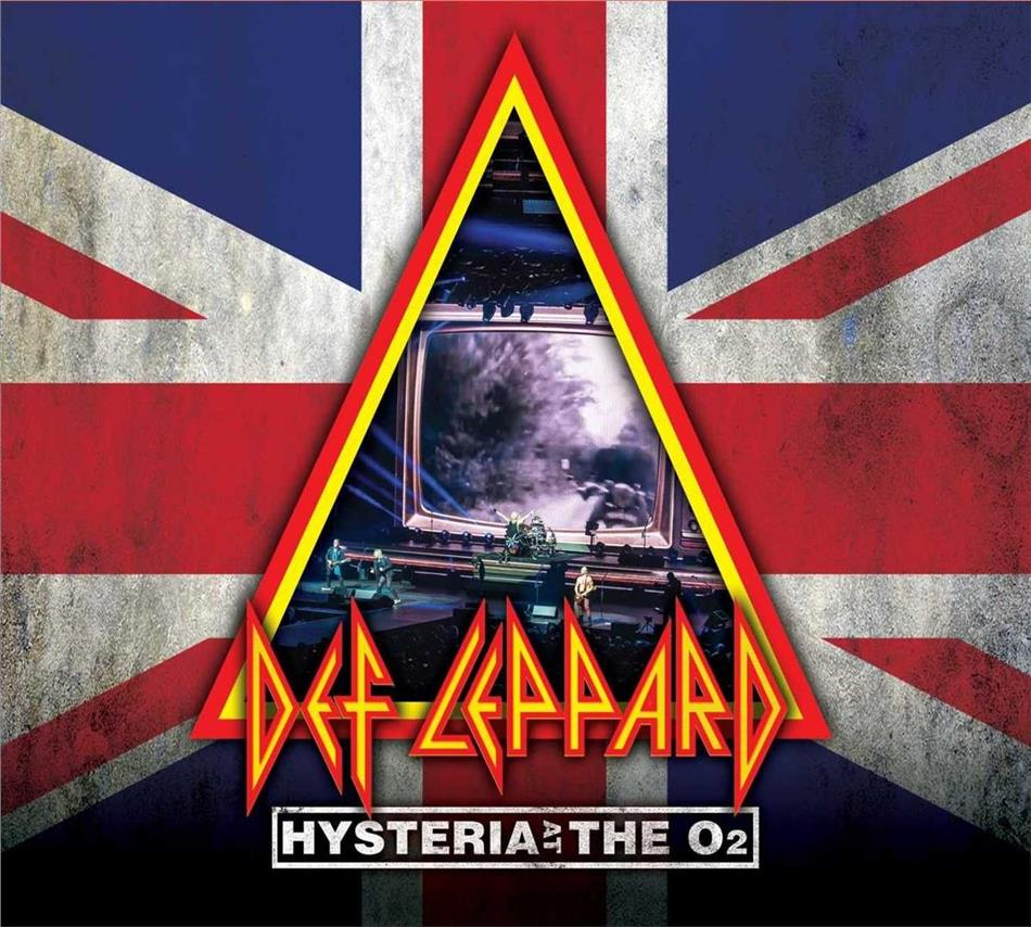 Def Leppard - Hysteria At The O2 - Live (Blu-ray + 2 CDs)