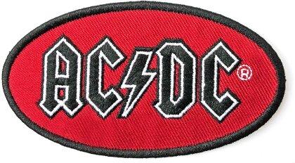 AC/DC Standard Patch - Oval Logo