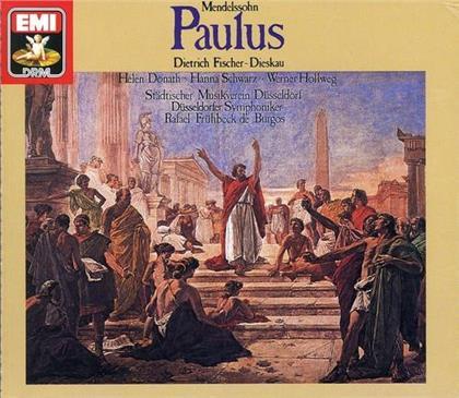 Rafael Frühbeck de Burgos, Felix Mendelssohn-Bartholdy (1809-1847), Dietrich Fischer-Dieskau, Helen Donath, Hanna Schwarz, … - Paulus