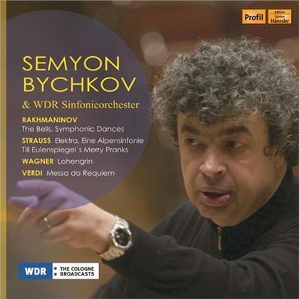 WDR Sinfonieorchester, Sergej Rachmaninoff (1873-1943), Richard Strauss (1864-1949), Richard Wagner (1813-1883), Giuseppe Verdi (1813-1901), … - Semyon Bychkov & WDR Sinfonieorchester