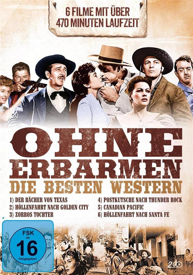 Ohne Erbarmen - Die besten Western (2 DVDs)