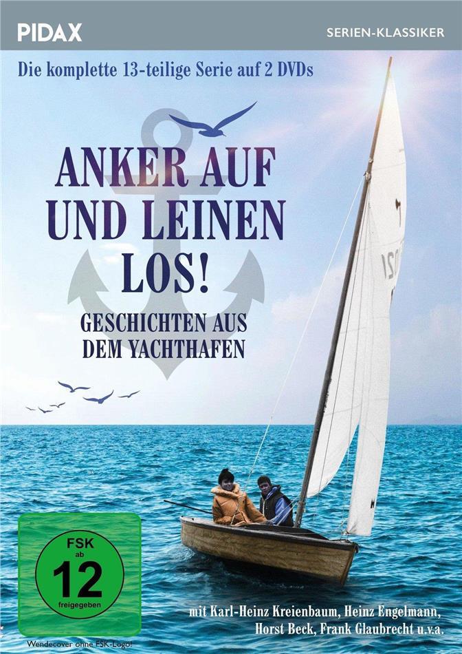 Anker auf und Leinen los! - Geschichten aus dem Yachthafen - Die komplette 13-teilige Serie (Pidax Serien-Klassiker, 2 DVDs)