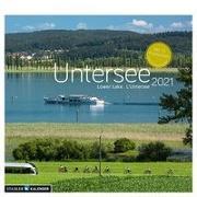 Der Untersee 2021. Postkarten-Tischkalender