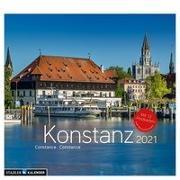 Konstanz 2021. Postkarten-Tischkalender