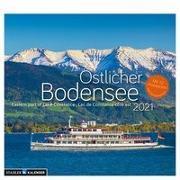 Östlicher Bodensee 2021. Postkarten-Tischkalender