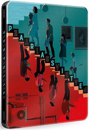 Parasite (2019) (Steelbook, Blu-ray + DVD)