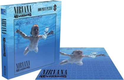 Nirvana: Nevermind - 1000 Piece Jigsaw Puzzle