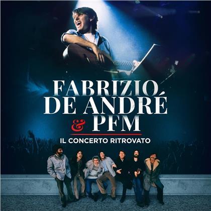 Fabrizio De André & PFM - Premiata Forneria Marconi - Il concerto ritrovato (2 LPs)