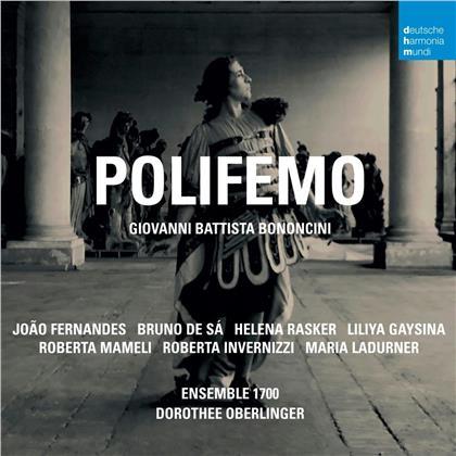 Dorothee Oberlinger, Ensemble 1700, Giovanni Battista Bononcini, Joao Fernandes, Bruno de Sá, … - Polifemo (2 CDs)