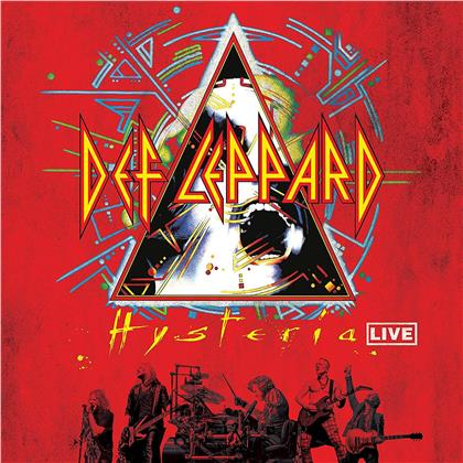 Def Leppard - Hysteria Live (Limited, Gatefold, Clear Vinyl, 2 LPs)