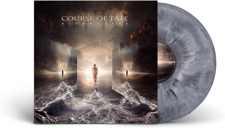 Course Of Fate - Mindweaver (Silver/White/Black Marbled Vinyl, LP)