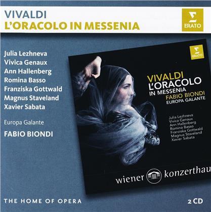 Antonio Vivaldi (1678-1741), Fabio Biondi, Julia Lezhneva, Vivica Genaux, Ann Hallenberg, … - L'Oracolo in Messenia - Wiener Konzerthaus (2 CDs)