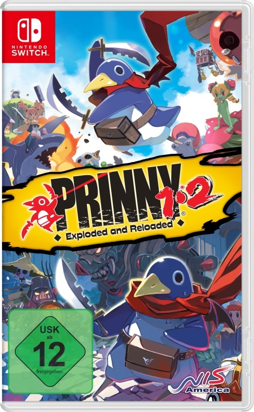 Prinny 1/2 - Exploded and Reloaded Just Desserts Edition