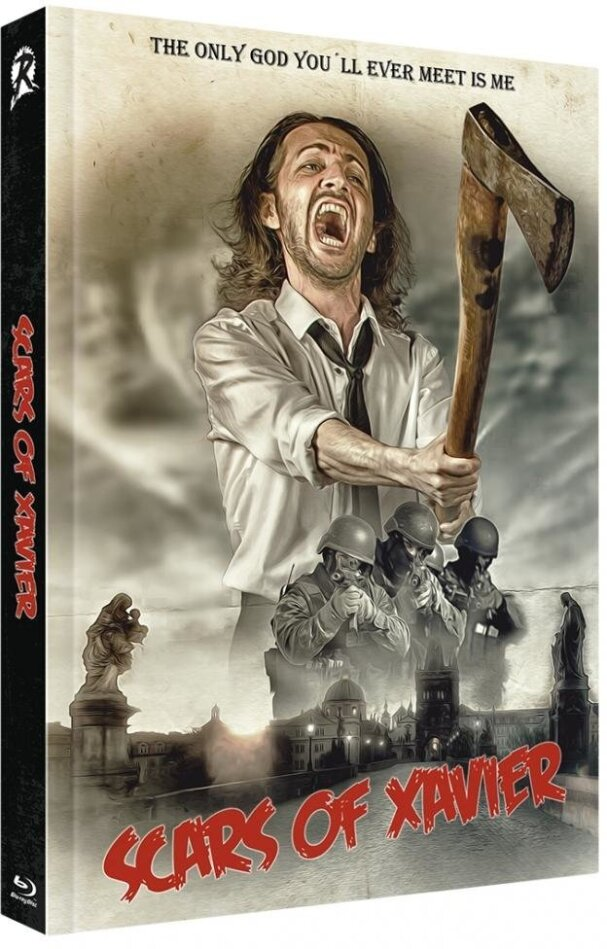 Scars of Xavier (Cover C, Limited Edition, Mediabook, Uncut, Blu-ray + DVD)