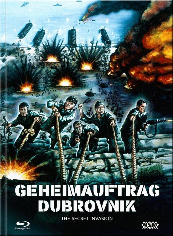 Geheimauftrag Dubrovnik (1964) (Cover B, Limited Collector's Edition, Mediabook, Blu-ray + DVD)