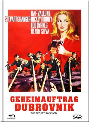 Geheimauftrag Dubrovnik (1964) (Cover E, Limited Collector's Edition, Mediabook, Blu-ray + DVD)