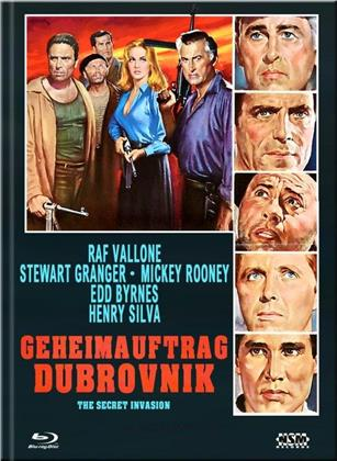 Geheimauftrag Dubrovnik (1964) (Cover F, Limited Collector's Edition, Mediabook, Blu-ray + DVD)