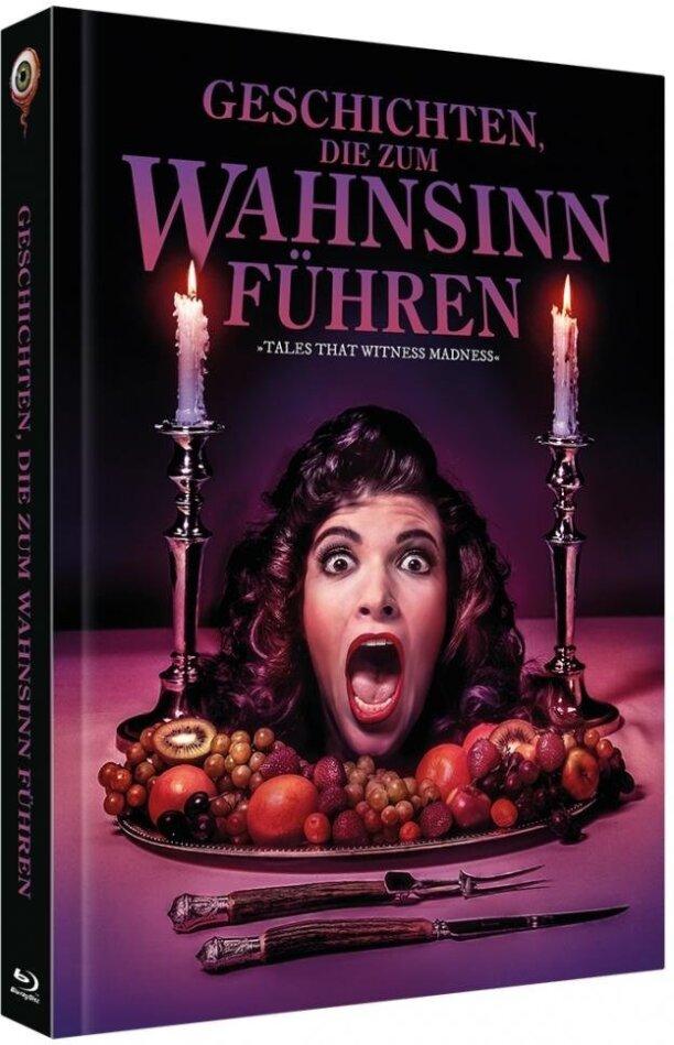 Geschichten, die zum Wahnsinn führen (1973) (Cover A, Limited Collector's Edition, Mediabook, Blu-ray + DVD)