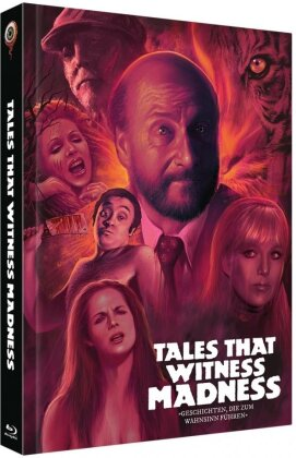 Tales That Witness Madness (1973) (Cover B, Limited Collector's Edition, Mediabook, Blu-ray + DVD)