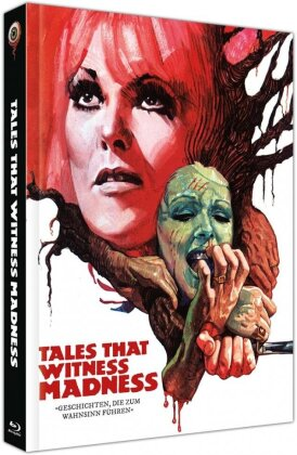 Tales That Witness Madness (1973) (Cover C, Limited Collector's Edition, Mediabook, Blu-ray + DVD)