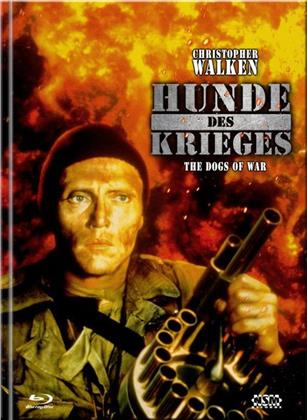 Hunde des Krieges (1980) (Cover C, Limited Collector's Edition, Mediabook, Blu-ray + DVD)