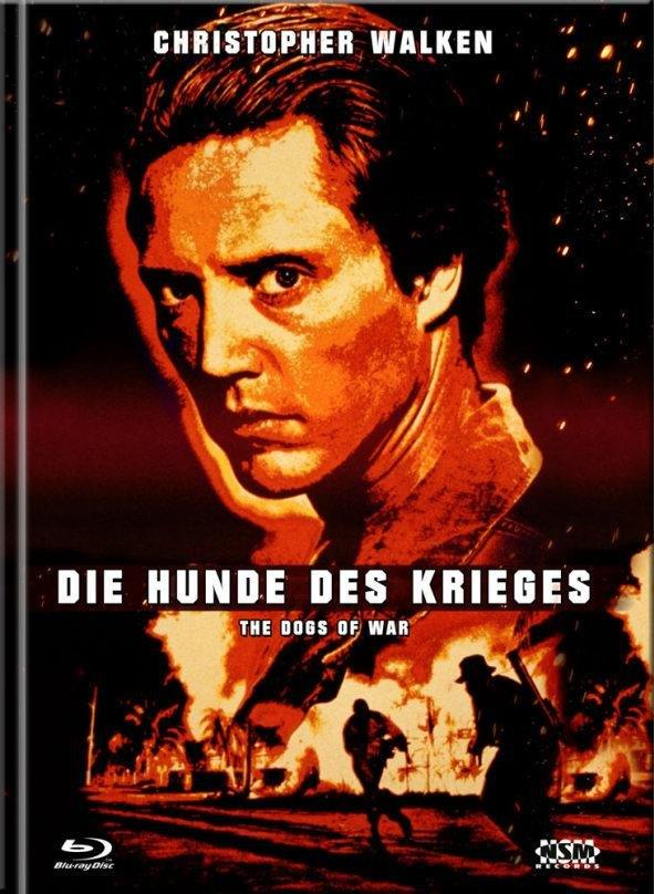 Die Hunde des Krieges (1980) (Cover D, Limited Collector's Edition, Mediabook, Blu-ray + DVD)