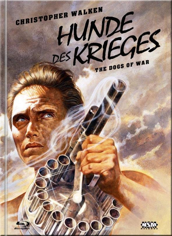 Hunde des Krieges (1980) (Cover E, Limited Collector's Edition, Mediabook, Blu-ray + DVD)
